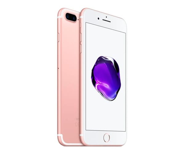 APPLE IPHONE 7 PLUS 128GB ROSA DORADO MÓVIL 4G 5.5'' IPS/4CORE/128GB/3GB RAM/12MP DUAL OIS/7MP
