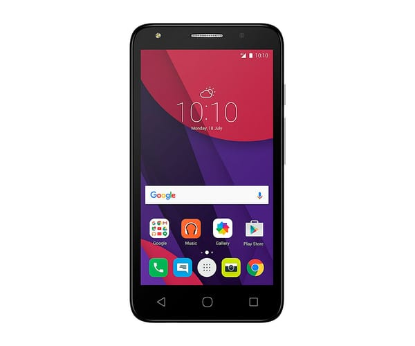 ALCATEL PIXI 4 (5) 4G NEGRO MÓVIL DUAL SIM 5''/4CORE/8GB/1GB RAM/8MP/5MP