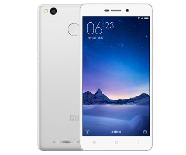 XIAOMI REDMI 3S (16+2) BLANCO MÓVIL 4G DUAL SIM 5'' IPS/8CORE/16GB/2GB RAM/13MP/5MP