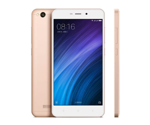 XIAOMI REDMI 4A DORADO MÓVIL 4G DUAL SIM 5'' IPS HD/4CORE/16GB/2GB RAM/13MP/5MP