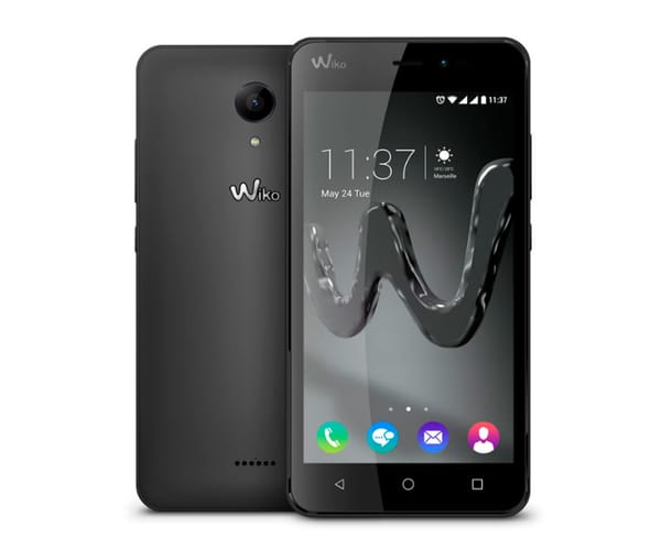 WIKO FREDDY NEGRO MÓVIL 4G DUAL SIM 5'' IPS/4CORE/8GB/1GB/5MP/2MP