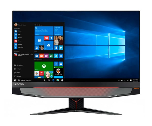 LENOVO IDEACENTRE AIO Y910-27ISH F0CJ PC TODO-EN-UNO 27''/i7 3.4GHz/2TB+SSD 256GB/32GB RAM/GTX 1080 8GB/WIN10 HOME