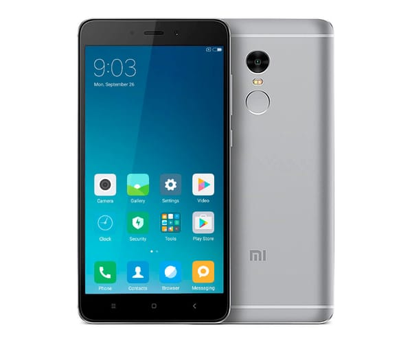 XIAOMI REDMI NOTE 4 PRO GRIS MÓVIL 4G DUAL SIM 5.5'' IPS FHD/8CORE/32GB/3GB RAM/13MP/5MP