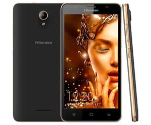 HISENSE U989 PRO NEGRO MÓVIL 3G DUAL SIM IPS HD 5.5''/4CORE/16GB/1GB RAM/13MP/5MP