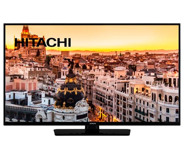 HITACHI 40HE4001 TELEVISOR 40'' LCD LED FULL HD 600Hz SMART TV WIFI HDMI USB GRABADOR Y REPRODUCTOR MULTIMEDIA