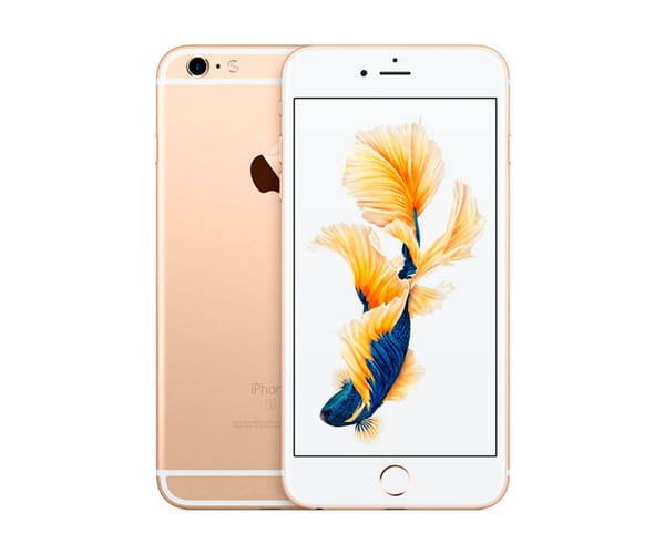 APPLE IPHONE 6S 128GB ORO REACONDICIONADO CPO MÓVIL 4G 4.7'' RETINA HD/2CORE/128GB/2GB RAM/12MP/5MP