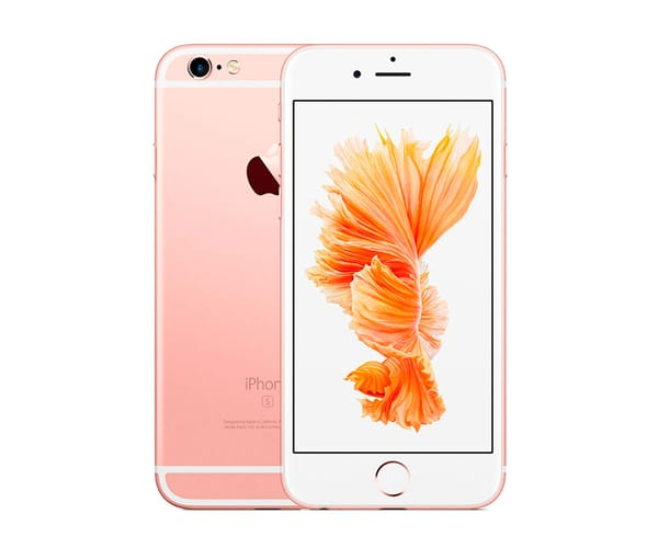 APPLE IPHONE 6S 128GB ORO ROSA REACONDICIONADO CPO MÓVIL 4G 4.7'' RETINA HD/2CORE/128GB/2GB RAM/12MP/5MP