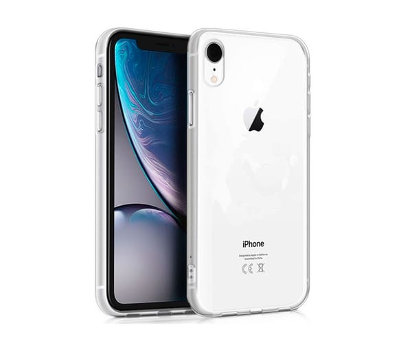 JC CARCASA SILICONA TRANSPARENTE APPLE IPHONE XR