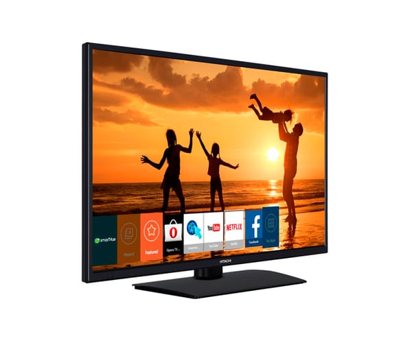 HITACHI 39HB4T62 TELEVISOR 39'' LCD LED FULL HD 200HZ SMART TV WIFI CON HDMI, VGA Y USB