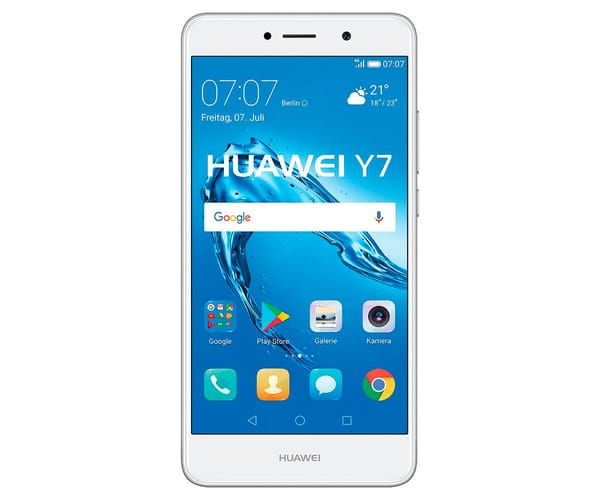 HUAWEI Y7 TORONTO BLANCO MÓVIL 4G DUAL SIM 5.5'' IPS LED/8CORE/16GB/2GB RAM/12MP/8MP