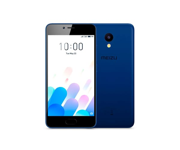 MEIZU M5C AZUL MÓVIL 4G DUAL SIM 5'' IPS HD/4CORE/16GB/2GB RAM/8MP/5MP