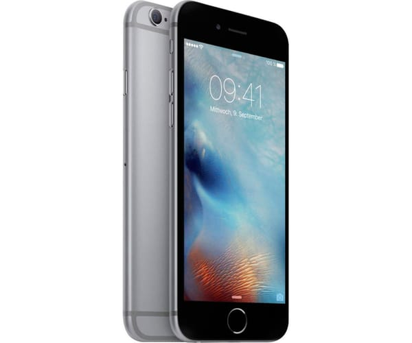 APPLE IPHONE 6 32GB GRIS ESPACIAL MÓVIL 4G 4.7'' IPS/2CORE/32GB/1GB RAM/8MP/1.2MP
