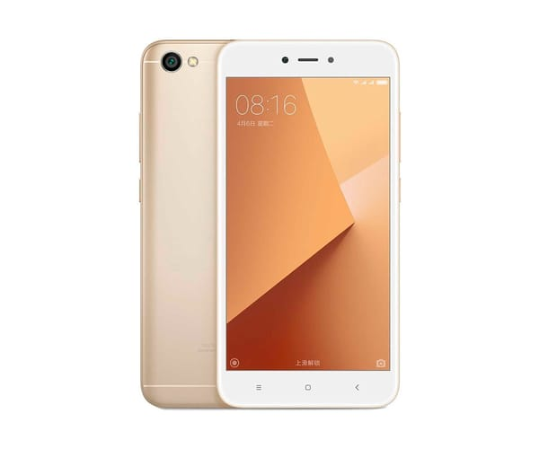 XIAOMI REDMI NOTE 5A DORADO MÓVIL 4G DUAL SIM 5.5'' IPS HD/4CORE/16GB/2GB RAM/13MP/5MP
