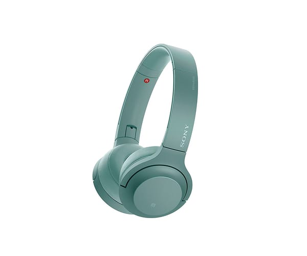SONY WHH800G VERDE AURICULARES BLUETOOTH NFC AUDIO DE ALTA RESOLUCIÓN