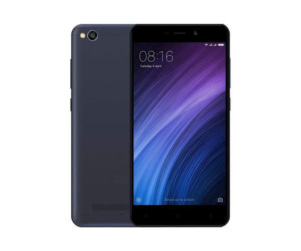 XIAOMI REDMI 4A NEGRO MÓVIL 4G DUAL SIM 5'' IPS HD/4CORE/16GB/2GB RAM/13MP/5MP