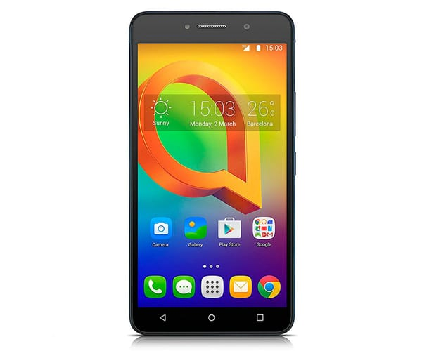 ALCATEL A2 XL 8050 AZUL MÓVIL 3G DUAL SIM 6'' IPS HD/4CORE/8GB/1GB RAM/8MP/5MP