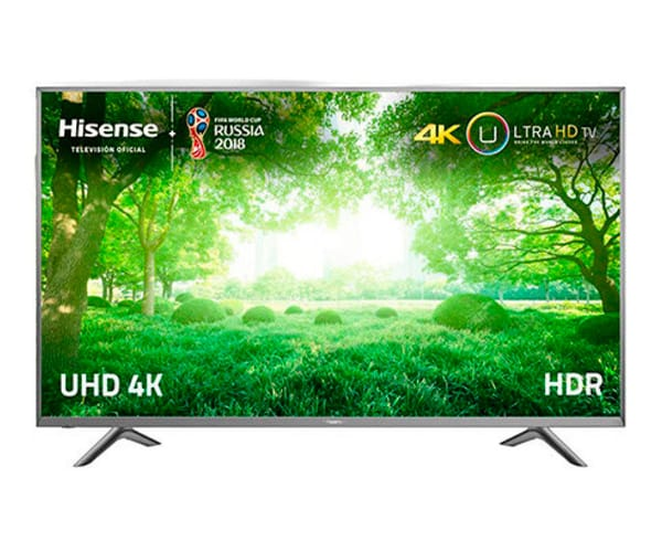 HISENSE H60NEC5600 TELEVISOR 60'' LCD DIRECT LED UHD 4K HDR 1200Hz SMART TV WIFI HDMI USB REPRODUCTOR MULTIMEDIA