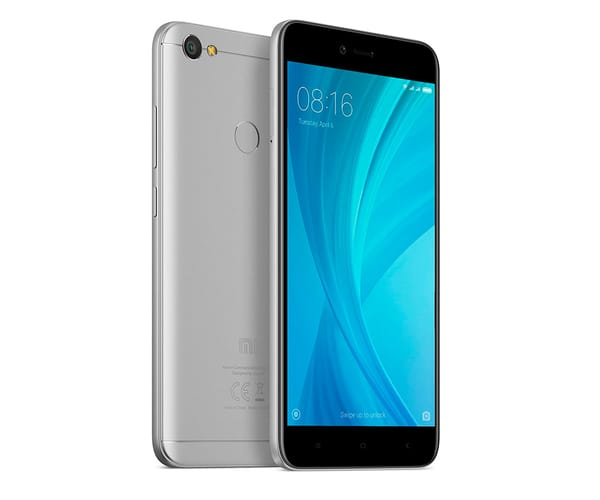 XIAOMI REDMI NOTE 5A PRIME GRIS MÓVIL 4G DUAL SIM 5.5'' IPS HD/8CORE/32GB/3GB RAM/13MP/16MP