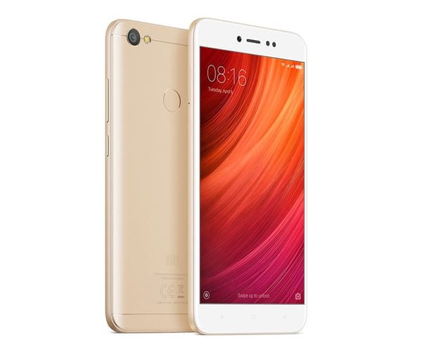 XIAOMI REDMI NOTE 5A PRIME DORADO MÓVIL 4G DUAL SIM 5.5'' IPS HD/8CORE/32GB/3GB RAM/13MP/16MP