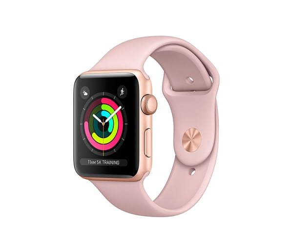 APPLE WATCH SERIES 3 ORO 42mm SMARTWATCH CON GPS WIFI BLUETOOTH ASISTENTE VIRTUAL SIRI Y RESISTENTE AL AGUA