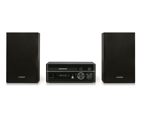 GRUNDIG M2000BT SISTEMA DE AUDIO HI-FI 50W RMS BLUETOOTH REPRODUCTOR USB CD AUX RADIO FM