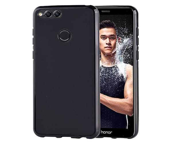 JC CARCASA MATE NEGRO HONOR 7X