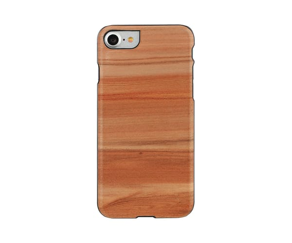 MAN&WOOD GENUINE CAPUCCINO CARCASA DE MADERA APPLE IPHONE 7/8