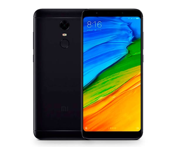XIAOMI REDMI 5 PLUS NEGRO MÓVIL 4G DUAL SIM 5.99'' IPS FHD+/8CORE/64GB/4GB RAM/12MP/5MP