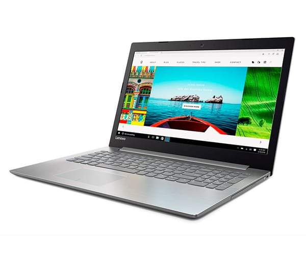 LENOVO IDEAPAD 320-15IAP NEGRO ÓNIX PORTÁTIL 15.6'' LCD LED HD READY/N3350 1.10GHz/500GB/4GB RAM/W10 HOME