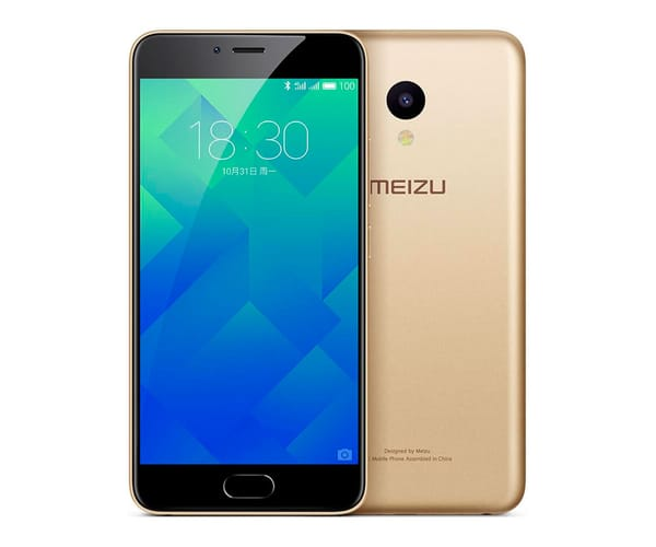 MEIZU M5 ORO CHAMPÁN MÓVIL 4G DUAL SIM 5.2'' IPS HD/8CORE/16GB/2GB/13MP/5MP Z REAC.