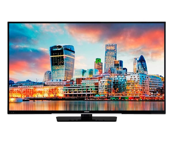 HITACHI 49HK4W64 TELEVISOR 49'' LCD DIRECT LED UHD 4K 1200Hz SMART TV WIFI BLUETOOTH LAN HDMI USB REPRODUCTOR MULTIMEDIA
