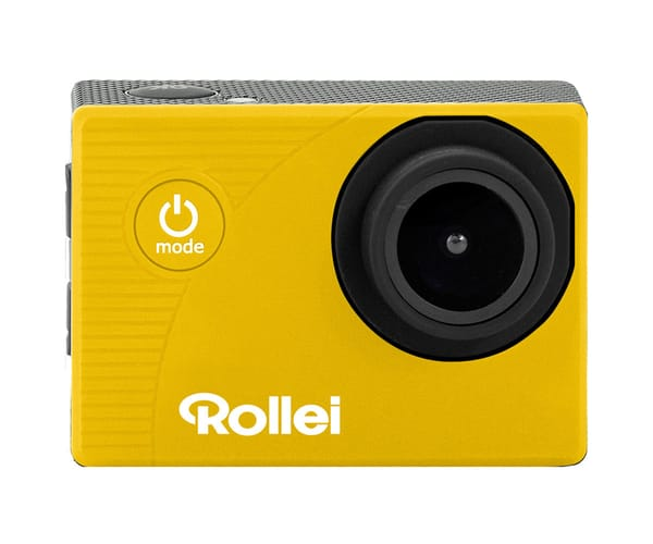 ROLLEI ACTIONCAM 372 AMARILLO CÁMARA DE ACCIÓN VÍDEOS EN FULL HD 30FPS 16MP WIFI INTEGRADO GRAN ANGULAR 140º