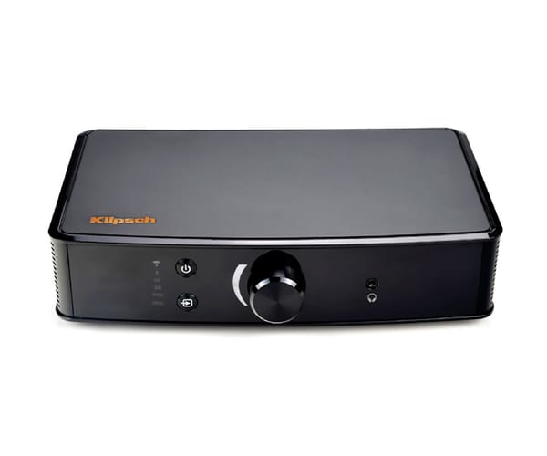 KLIPSCH POWER GATE AMPLIFICADOR 200W WIFI BLUETOOTH ENTRADAS ANALÓGICAS PHONO DIGITAL ÓPTICA RADIO POR INTERNET