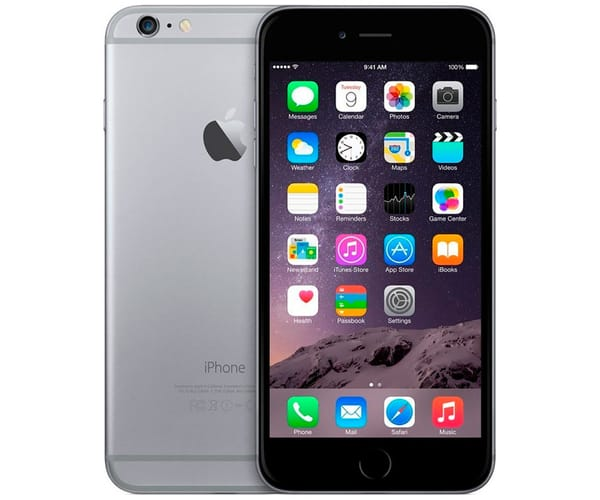 APPLE IPHONE 6 PLUS 64GB GRIS ESPACIAL REACONDICIONADO CPO MÓVIL 4G 5.5'' RETINA FHD/2CORE/64GB/1GB RAM/8MP/1.2MP