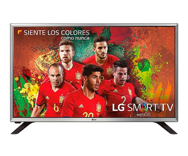 LG 32LJ590U TELEVISOR 32'' LCD LED HD READY SMART TV WEBOS 3.5 WIFI HDMI USB GRABADOR Y REPRODUCTOR MULTIMEDIA