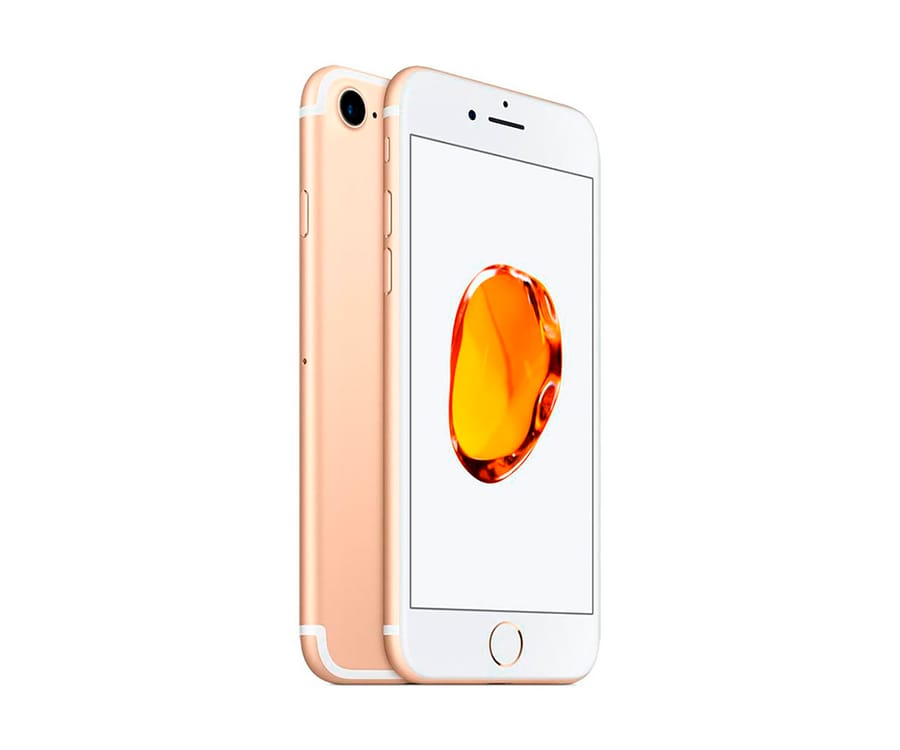 APPLE IPHONE 7 128GB DORADO REACONDICIONADO CPO MÓVIL 4G 4.7'' RETINA HD/4CORE/128GB/2GB RAM/12MP/7MP