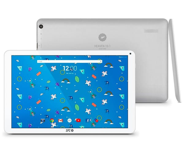 SPC HEAVEN 10.1 32GB BLANCO TABLET WIFI 10.1'' IPS HD/4CORE/32GB/2GB/2MP/VGA