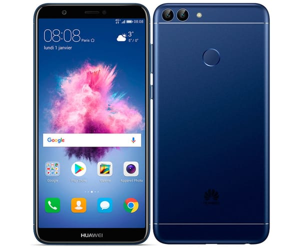 HUAWEI P SMART AZUL MÓVIL 4G DUAL SIM 5.65'' IPS FHD+/8CORE/32GB/3GB RAM/13MP+2MP/8MP