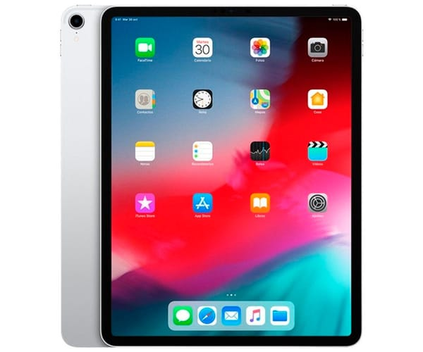 APPLE IPAD PRO PLATA TABLET WIFI 12.9'' LIQUID RETINA/64GB/4GB RAM/12MP/7MP