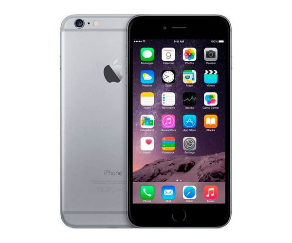 APPLE IPHONE 6 128GB GRIS ESPACIAL REACONDICIONADO CPO MÓVIL 4G 4.7'' RETINA HD/2CORE/128GB/1GB RAM/8MP/1.2MP