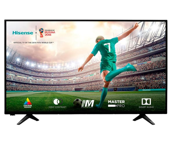 HISENSE H39A5100 TELEVISOR 39'' LCD DIRECT LED FULL HD HDMI USB REPRODUCTOR MULTIMEDIA