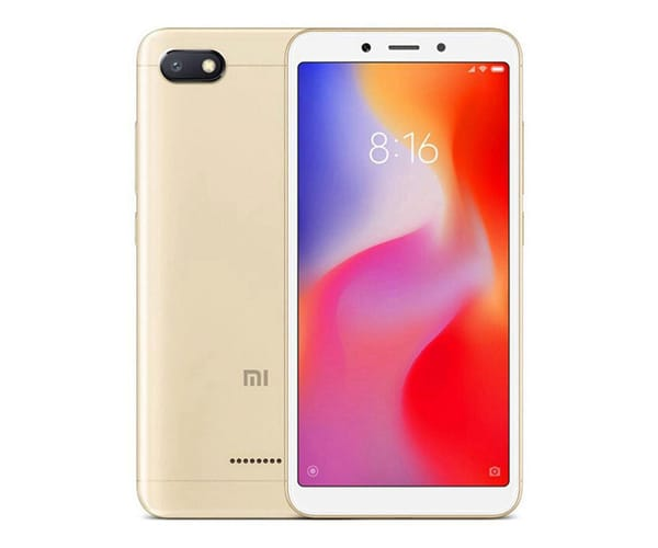 XIAOMI REDMI 6A DORADO 4G DUAL SIM 5.45'' IPS HD+/4CORE/16GB/2GB RAM/13MP/5MP