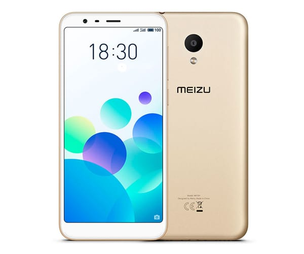 MEIZU M8C DORADO MÓVIL 4G DUAL SIM 5.45'' IPS HD+/4CORE/16GB/2GB RAM/13MP/8MP