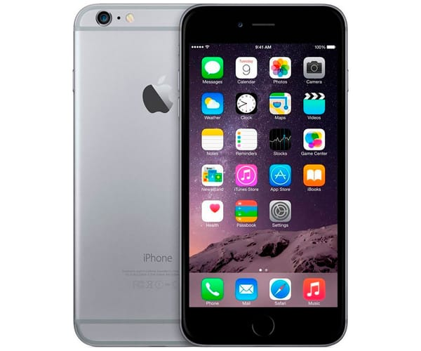 APPLE IPHONE 6 PLUS 16GB GRIS ESPACIAL REACONDICIONADO CPO MÓVIL 4G 5.5'' RETINA FHD/2CORE/16GB/1GB RAM/8MP/1.2MP