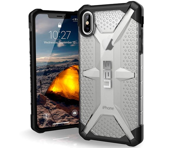 URBAN ARMOR GEAR CARCASA APPLE IPHONE XS MAX TRANSPARENTE RESISTENTE