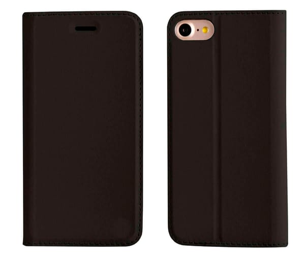 AKASHI FUNDA FOLIO NEGRO APPLE IPHONE 7/8 PLUS