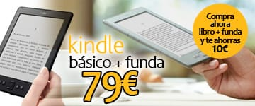 "KINDLE 6"" CON FUNDA POR SOLO 79,95 €"