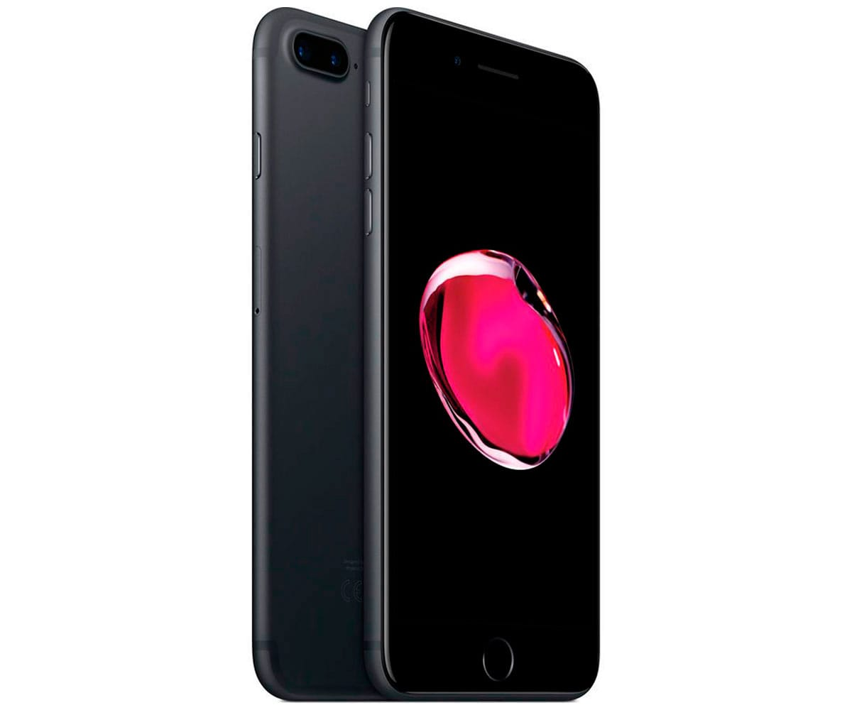 5b3e61144b2 APPLE IPHONE 7 PLUS 32GB NEGRO MATE REACONDICIONADO CPO MÓVIL 4G 5.5''  RETINA FHD/4CORE/32GB/3GB RAM/12MP+12MP/7MP
