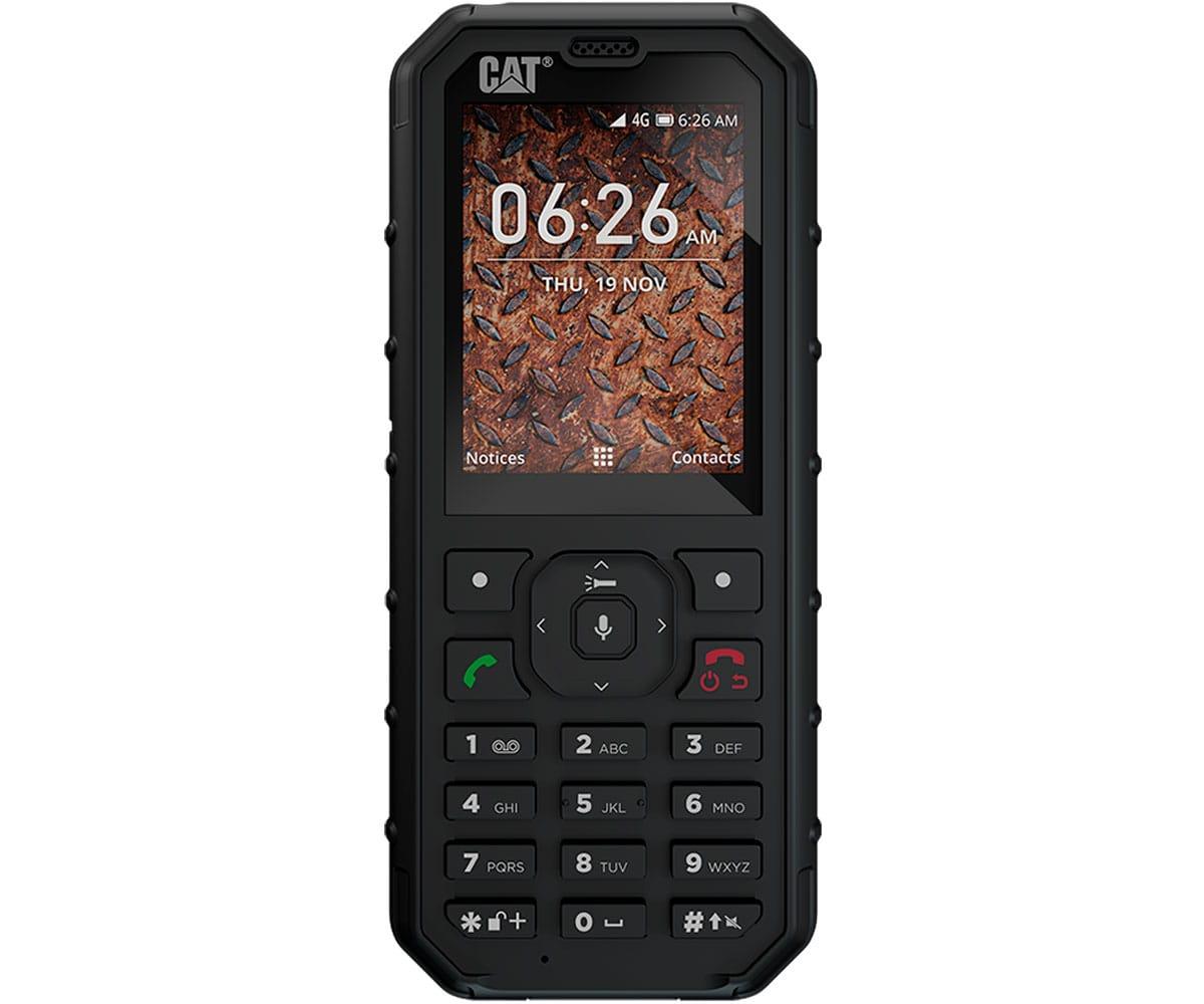 dd5f1f5990c CAT B35 NEGRO TELEFONO MOVIL DUAL SIM 4G MUY RESISTENTE CON CAMARA Y  BLUETOOTH - B35
