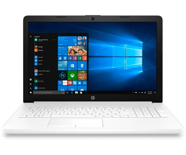 HP 15-DB0019 PORTÁTIL BLANCO 15.6'' LCD WLED HD READY/A9 3.1GHz/1TB/12GB RAM/W10 HOME